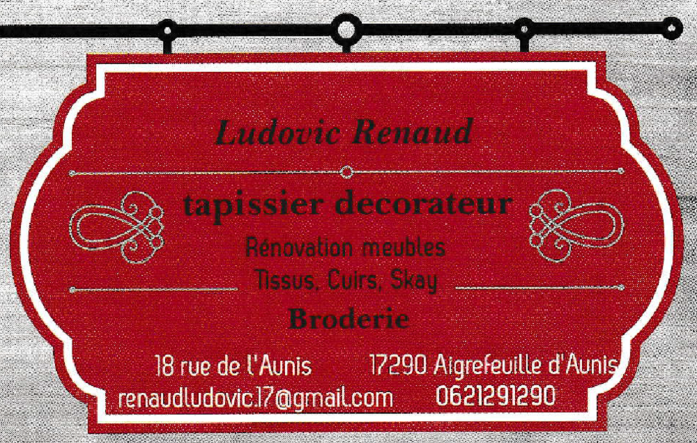 Tapissier D'Ameublement Ludovic Renaud